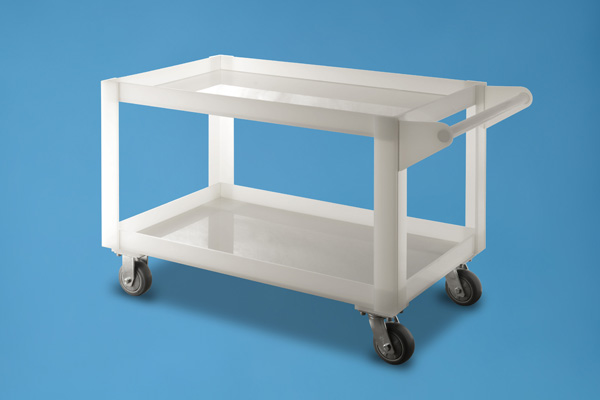 Mobile Utily Cart (Electro Polish)